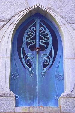 Art nouveau door 3